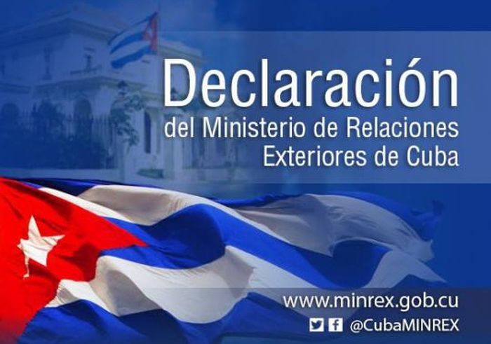 escambray today, cuban ministry of foreign relations, us president donald trump, usa