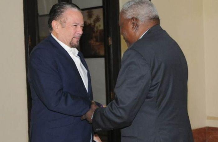 escambray today, cuba-jamaica relations, cuba parliament president esteban lazo