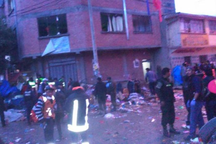escambray today, bolivia, oruro carnival, gas explosion