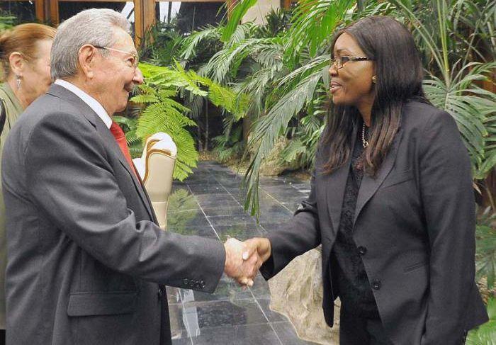 escammbary today, cuba, cuba-namibia relations, namibia, cuba president raul castro