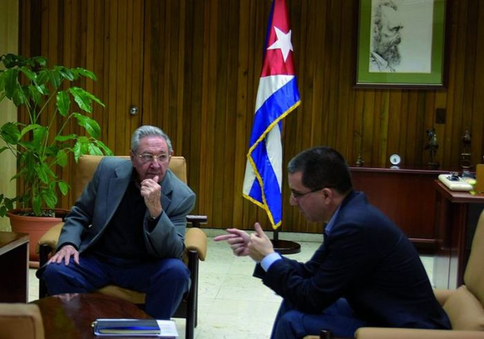 escambray today, cuba-venezuela relations, raul castro, jorge arreaza