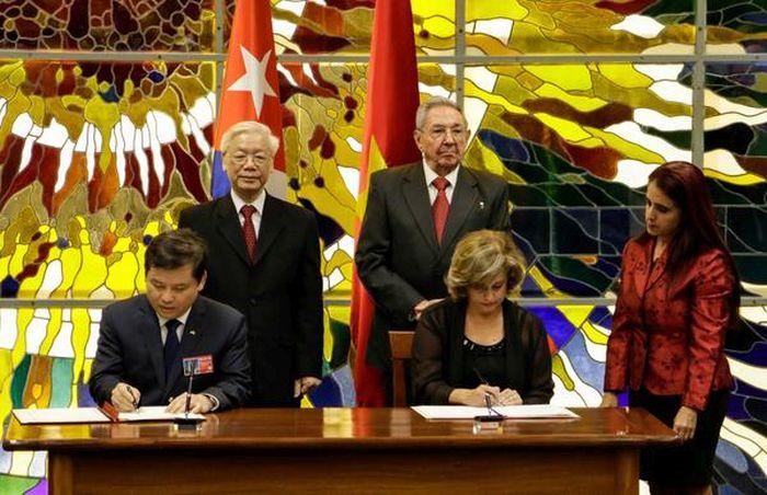 cuba-vietnam cooperation