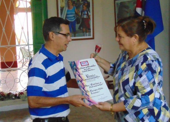 cuba press day commemoration in sancti spiritus