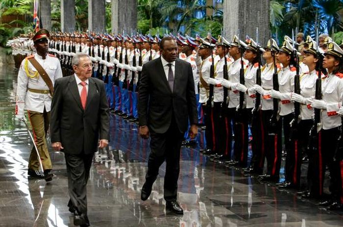 Uhuro Kenyatta in Cuba