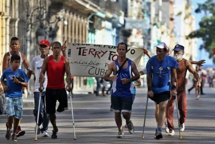 Terry Fox Race in Havana, Cuba