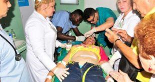 traffic accident in sancti spiritus