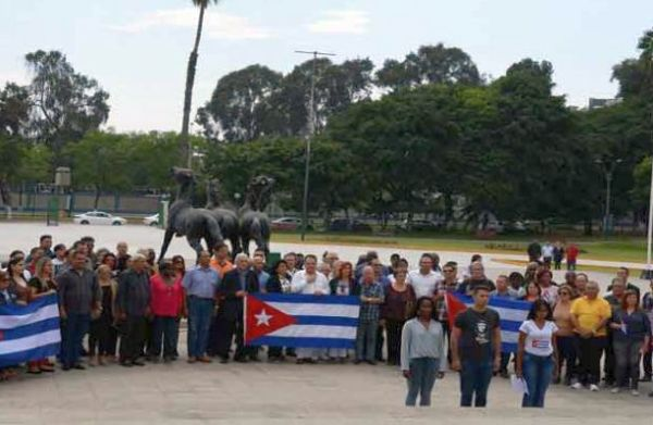 Cuban delegation to Peoples' Summit in Peru