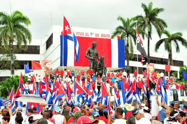 May Day in Sancti Spiritus