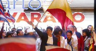 Carlos Alvarado, new president of Costa Rica