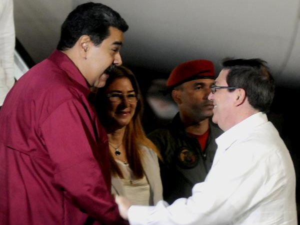 Maduro in Cuba for official visit.