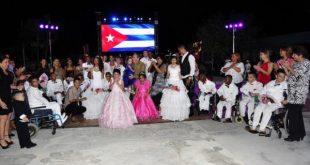 Raul Castro visits special school