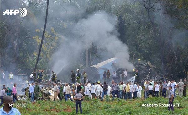 Plane crash in Havana, Cuba