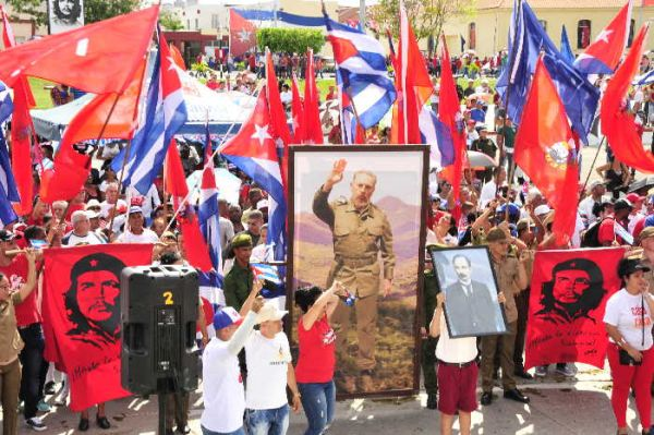 fidel on may day