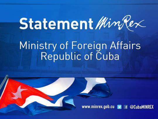 cuba statement