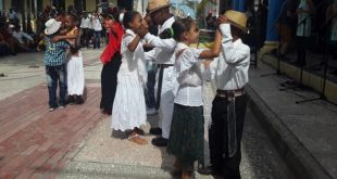 children dancing Changüí