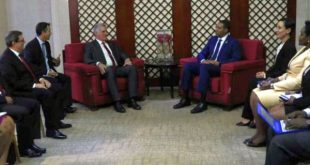 diaz canel and jamaica head of state