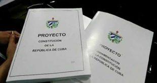 cuba draft constitution