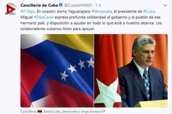cuba-venezuela solidarity
