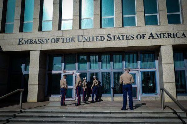 US embassy in Havana
