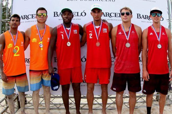 Cuba beach volleybal duo