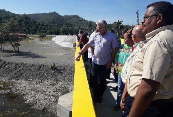 diaz canel visits guantanamao