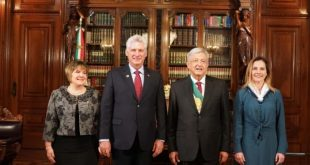 Cuba President in Mexico