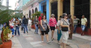 Tourists in Sancti Spiritus