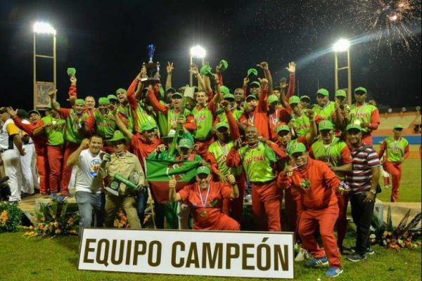 Las Tunas baseball team