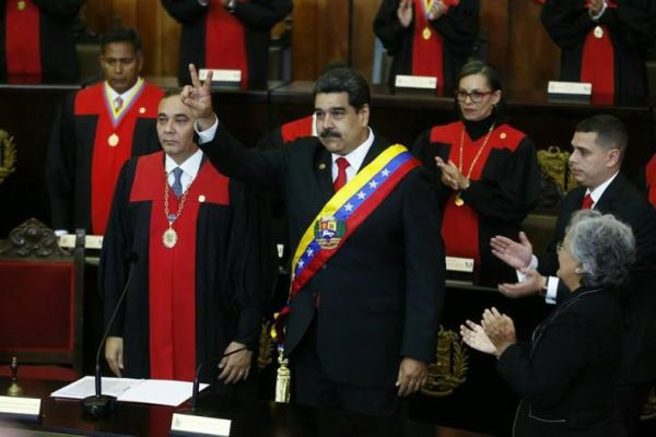 maduro sworn in