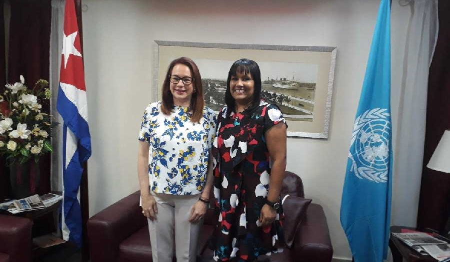 Maria Fernanda, President of the UN General Assembly
