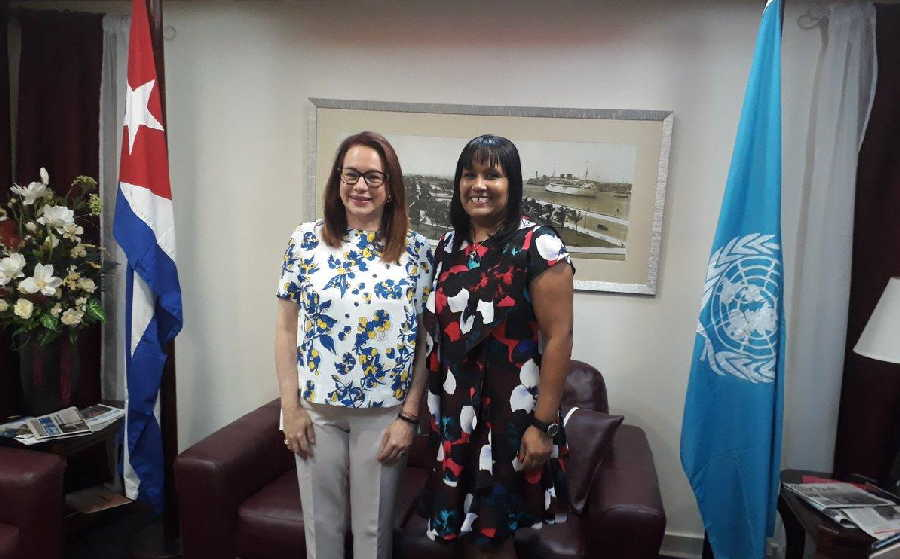 Maria Fernanda, President of the UN General Assembly