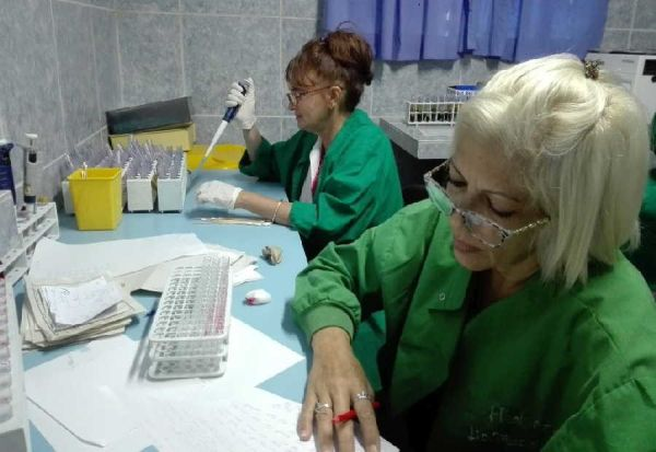 Sancti Spiritus pediatric hospital's labs