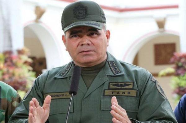 Venezuela Defense Minister Vladimir Padrino