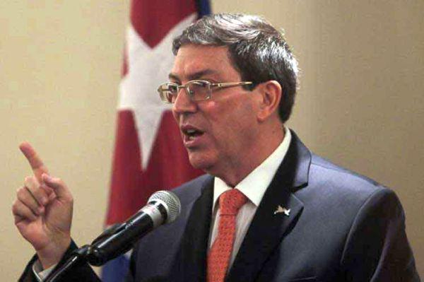 Cuba Foreign Minister Bruno Rodríguez Parrilla