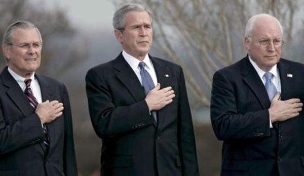 Bush, Cheney and Rumsfeld