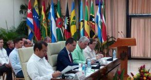 18 political council of ALBA-TCP