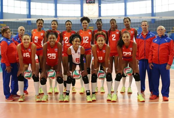 cuban u-20 volleyball team wins