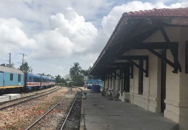 railway station of sancti spiritus