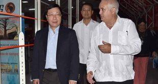 vietnamese FM arrives in Cuba