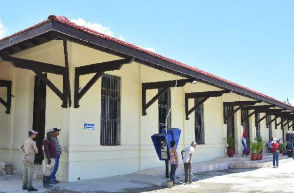 Railroad station of Sancti Spiritus1