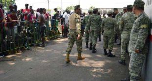 deployment of troops in border
