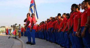 Cuba athletes to Lima