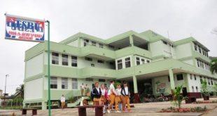 José-Antonio-Echeverría Secondary School in Sancti Spiritus