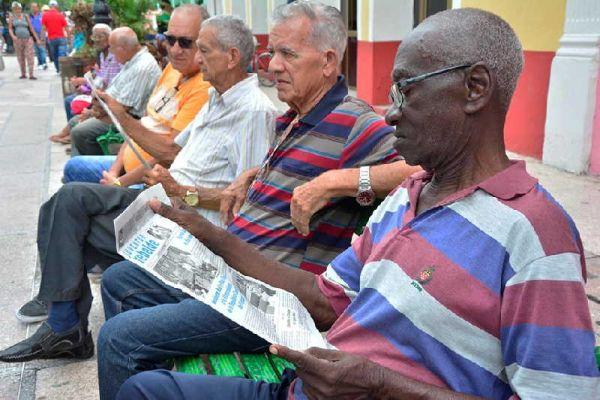 elderly in sancti spiritus