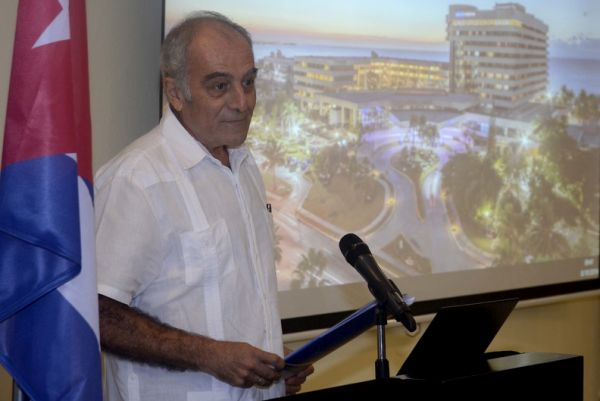 Alberto Navarro, ambassador and head of the EU delegation in Cuba