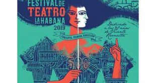 Promotional bill of the 18th Havana Theater Festival