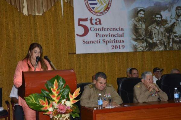 association of combatants in sancti spiritus