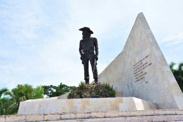 camilo cienfuegos monument in yaguajay, sancti spiritus, cuba