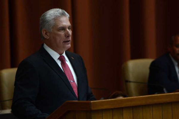 diaz-canel, president of the republic of cuba