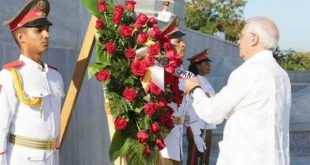 josep borrell honors jose marti in havana